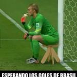Esperando los Goles de Brasil