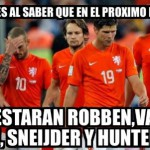 Holandeses al saber que el próximo Mundial