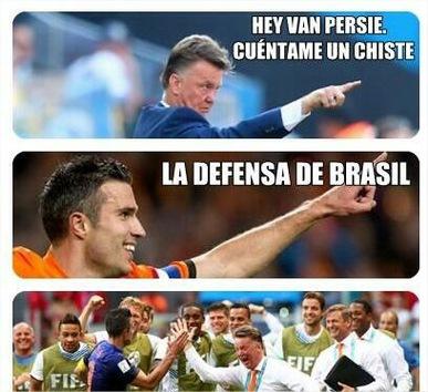 Los mejores Memes del Mundial de Fútbol de Brasil 2014. Partido de para el 3º y 4º Puesto. Holanda 3 - Brasil 0