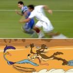 Final del Mundial de Fútbol de Brasil, Alemania 1, Argentina 0. Memes