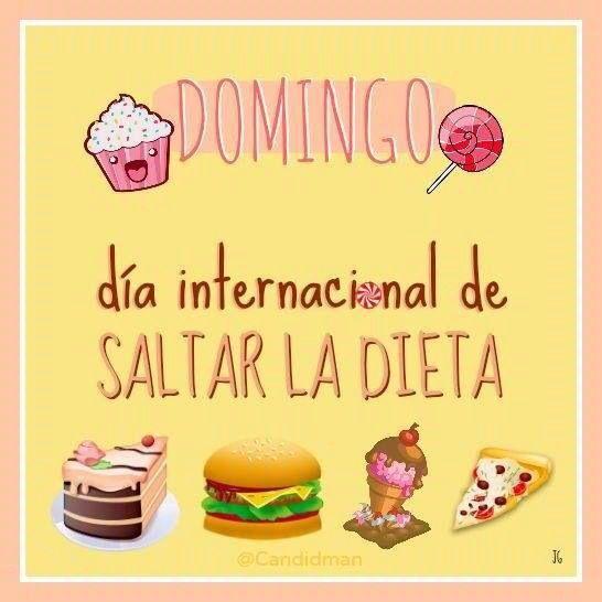 Domingo: día internacional de saltarse la dieta