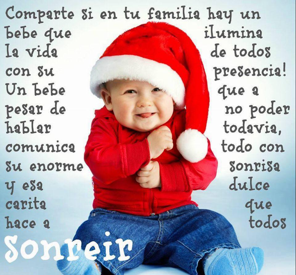 Comparte si en tu familia hay un bebé que ilumina la vida de todos con su presencia. Un bebé que a pesar de no poder hablar todavía comunica todo con su enorme sonrisa