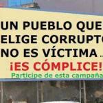Un pueblo que elige corruptos...