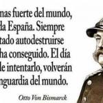 La nación más fuerte del mundo sin duda es España...