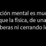 La atracción mental es mucho más fuerte que la física, de una mente no te liberas ni cerrando los ojos