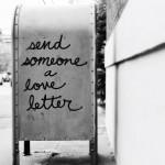 Enviar a alguien una carta de amor