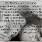 Promesa a mis hijos