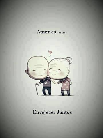 Amor es... Envejecer juntos