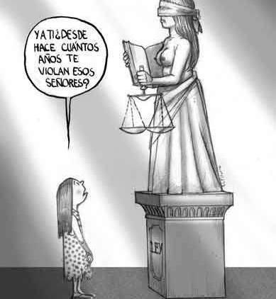 Humor sobre la justicia