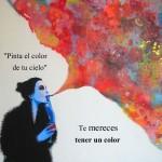 Pinta el color de tu cielo. Te mereces tener un color