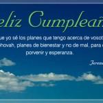 Porvenir y esperanza... Feliz cumpleaños