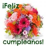 Flores en tu cumpleaños