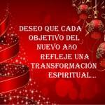 Deseo una transformación espiritual