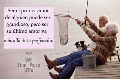 Ser el primer amor de alguien puede ser grandioso, pero ser su último amor va más allá de la perfección