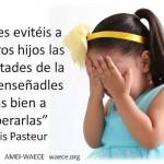 No les evitéis a vuestros hijos las dificultades