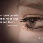 El amor es como un niño recién nacido no se sabe si vive hasta que llora