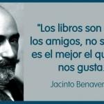 Los libros son como los amigos, no siempre es el mejor el que más nos gusta