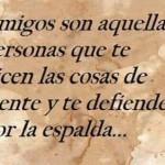 Amigos son aquellas personas que...