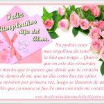 Feliz Cumpleaños hija de Alma, te amo con todo mi corazón