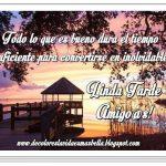Linda Tarde Amigo@s!