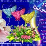Feliz Cumpleaños. Que la alegría sea una constante en tu vida