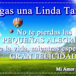 Tengas una Linda Tarde!