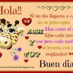 Hola; Buen día!! ♥♥