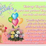 Feliz Cumpleaños amiga querida del alma