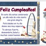Feliz Cumpleaños. Salud y muchas cosas buenas
