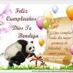 Feliz Cumpleaños, Dios te bendiga