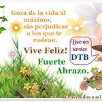 Buenas Tardes, DTB.♥♥