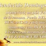 Bendecido Domingo Amores!