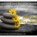 Feliz Tarde,Dios te bendiga!