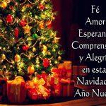 feliz navidad y próspero ano nuevo amigos