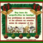 Muy buen día amigo@s,Dios les bendiga,Feliz Navidad!