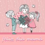 Feliz Día Mamá. Gracias Mamá y Felicidades en este día.