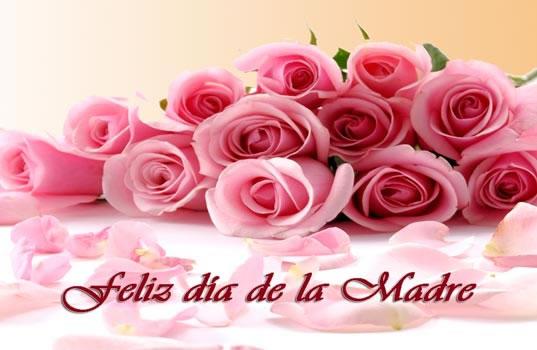 Feliz Día de la Madre. Un millón de gracias Mamá.