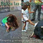 Busca las diferencias... Educa, enseña... Respeto y amor...