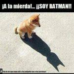 ¡A la mierda!... ¡¡Soy Batman!!!