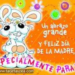 Un abrazo grande y Feliz día de la Madre. Especialmente para ti!