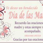 Te deseo un bendecido Día de las Madres.