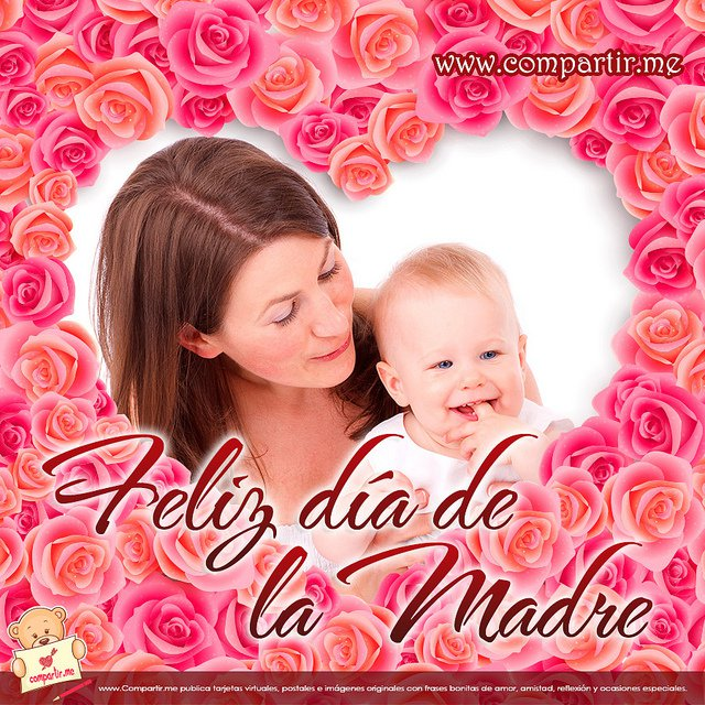 Feliz día de la Madre. Gracias Mamá por darme...