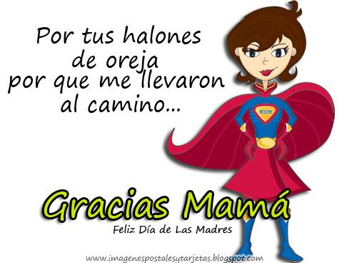 Por tus halones de oreja por que me llevaron al camino....Gracias Mamá. Feliz Día de las Madres.