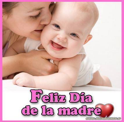 Feliz Día de la Madre. Para la Reina de esta casa, esposa y madre. Felicidades.