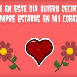 Madre en este Día quiero decirte que siempre estarás en mi corazón.