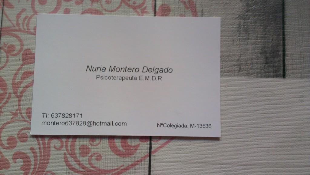 CENTRO PSICOLÓGICO AHORAERESFELIZ - NURIA MONTERO (MADRID)