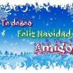 Feliz Navidad Amigo