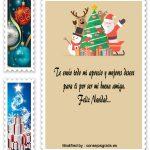 Feliz Navidad Amiga