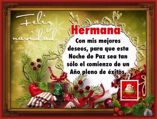 Feliz navidad hermana - Objetos de navidad ...