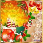 Feliz Navidad querido hermano